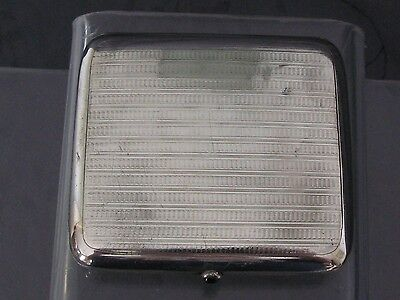 Solid Silver Case Has Cigarette Germany