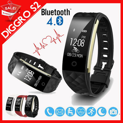 Diggro S2 Orologio Smartwatch Cardiofrequenzimetro Sports Band Per Android Ios