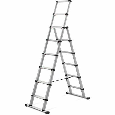 New Telesteps Black Line Telescopic Combi Ladder 2,3 m Aluminum Multi Function