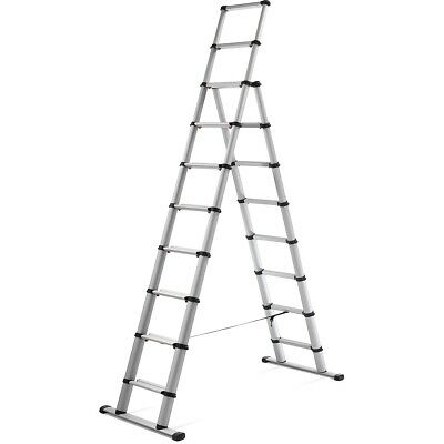 New Telesteps Black Line Telescopic Combi Ladder 3,0 mtr Aluminum Multi Function