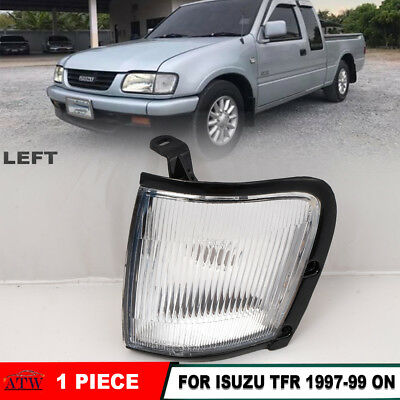 LH Left Front Corner Lamp Light Clear Lens Fit 1997-99 Isuzu TFR TF Pickup Rodeo