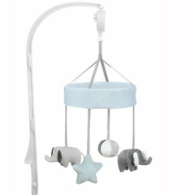Baninni Nursery Cot Crib Cradle Musical Mobile Toy Sounds Elephant BNMM003-ELP