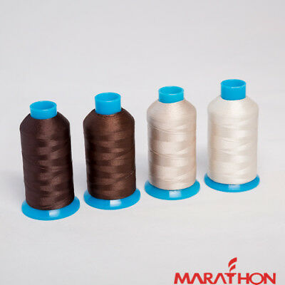 Marathon Polyester Embroidery machine thread: Shade Pack - Browns  4 x 1,000m