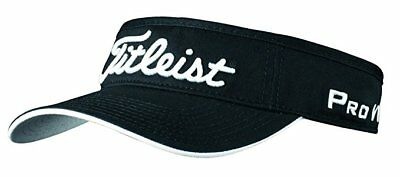 Titleist Prov1 Lo Pro Tour Visor - Black Golf Visor