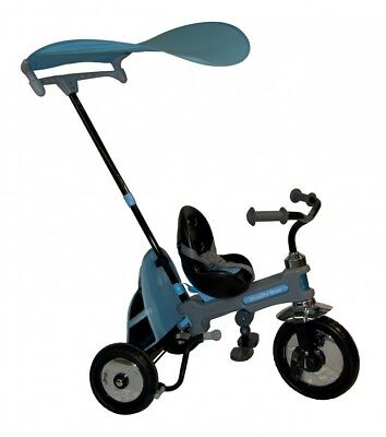 NEW Azzurro Children Tricycle Stroller Tricycle Toy Game Kids Toddler Blue