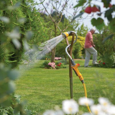 New Hozelock Water Hose Sprayer Hanging Basket Spray Gun Watering Sprinkler