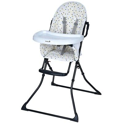 Safety 1st High Chair Baby Child Feeding Adjustable Kanji Grey Patches 27739495