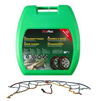 New Car Tyre Snow Chains 16 mm KB46 2 pcs Tyre Chains Sock Chains Antiskid