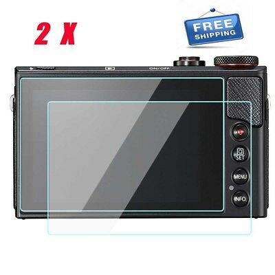 2X Screen Protector For Canon PowerShot G9X G7X Mark II G1X M3 Tempered Glass