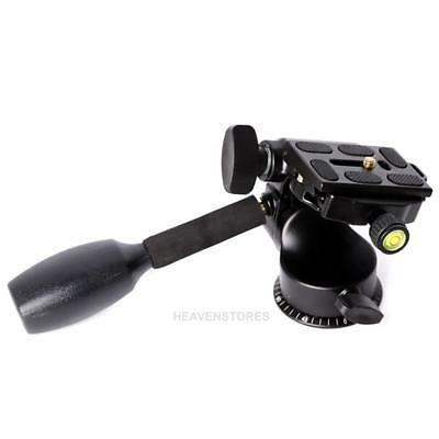 Tripod Ball Head Rocker Arm with Quick Release Plate for DSLR Camera hv2n