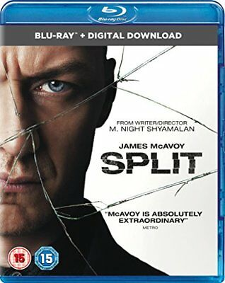Split (Blu-ray + Digital Download) [2017] [DVD][Region 2]
