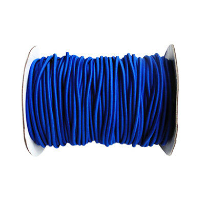 4mm 5m Blue Elastic Bungee Rope Shock Cord Tie Down for Boat/Trailer Covers