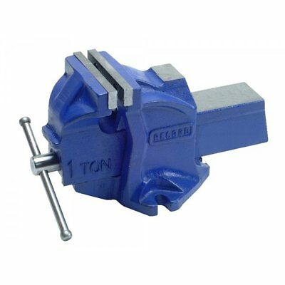 Irwin Jaw Vise with Anvil 100 mm 1 TON-E T41211000 Workshop Clamp Swivel Bench