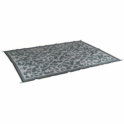 Bo-Leisure Outdoor Rug Camping Blanket Chill mat Lounge 2.7x2 m Grey 4271024