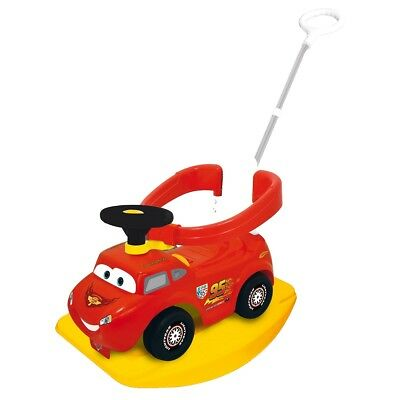 Kiddieland Kid Toddler Toy Cars 4-in-1 Activity Ride-on Racer Push Walker 502522