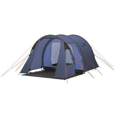 Easy Camp 3 Person Tent Outdoor Festival Camping Hiking Galaxy 300 Blue 120235