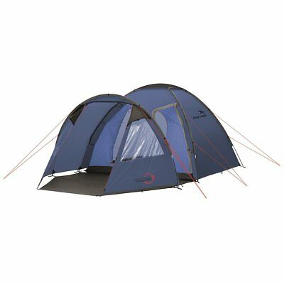 Easy Camp 5 Person Tent Outdoor Festival Camping Hiking Eclipse 500 Blue 120230