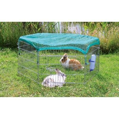 TRIXIE Outdoor Animal Pen Cage with Protective Net Extendable 63x60 cm 6253