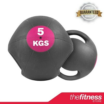 CoreX Training Double Grip Medicine Ball - 5KG FAST FREE DELIVERY!