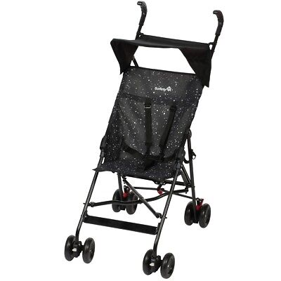 Safety 1st Baby Toddler Pushchair Buggy w/ Canopy Peps Splatter Black 1182323000