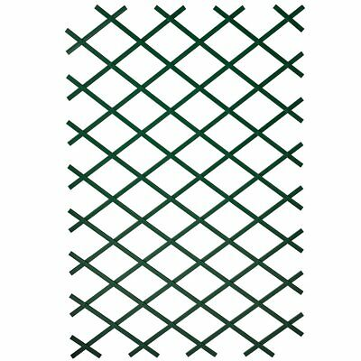 Nature Garden Trellis Expanding Fence Panel Decor 50x150 cm PVC Green 6040702