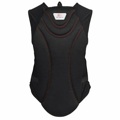 Covalliero Horse Riding Body Protector Black ProtectoSoft for Adults M 324504