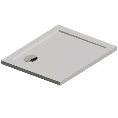 Get Wet by Sealskin Fusion Built-in Bath Shower Tray Water Drainage 60431207210