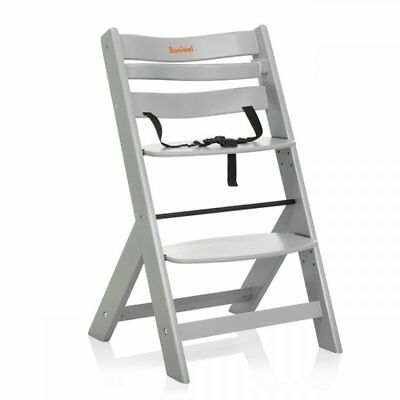 Baninni Baby/Child/Toddler Feeding High Chair Scala Light Grey BNDT004-LGY