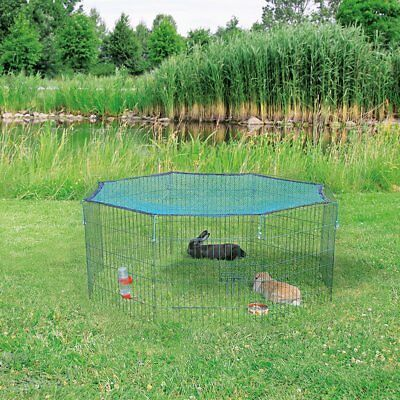 TRIXIE Outdoor Animal Pen Cage with Protective Net Door 60x57 cm Green 62411