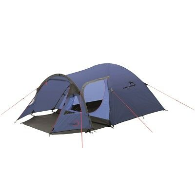 Easy Camp 3 Person Tent Outdoor Festival Camping Hiking Corona 300 Blue 120225