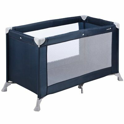 Safety 1st Travel Cot Child Baby Kid Sleep Play Soft Dreams Navy Blue 21125550