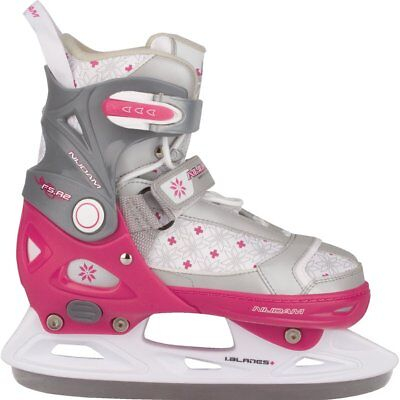 Nijdam Girl Kids Ice Figure Skates Boots with Blades Size 33-36 3121-FZW-33-36