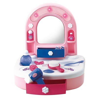 Playgo My Hairdressing Desk Kids Girls Dressing Table Make Up Toy Mirror 7840