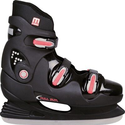 Nijdam Ice Hockey Skates Boots Shoes Unisex Blades Sharpened Size 45 0089-ZZR-45