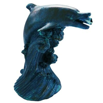 Ubbink Pond Spitter Ornament Spits Water Feature Statue Dolphin 18 cm 1386020