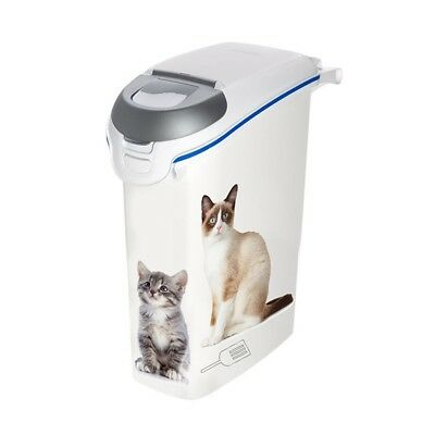 Curver Cat Litter Tray Box Container with Handle Toilet Loo 23 L White 412001