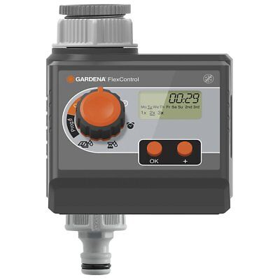 Gardena Irrigation Controller Water Timer Automatic 9 V FlexControl 1883-20