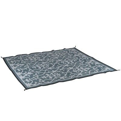 Bo-Leisure Outdoor Rug Camping Blanket Chill mat Picnic 2x1.8 m Grey 4271014