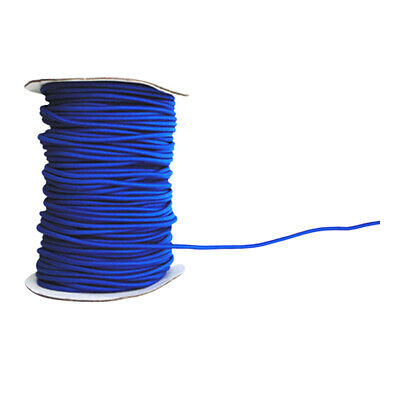 4mm 10m Blue Elastic Bungee Rope Shock Cord Tie Down for Boat/Trailer Covers