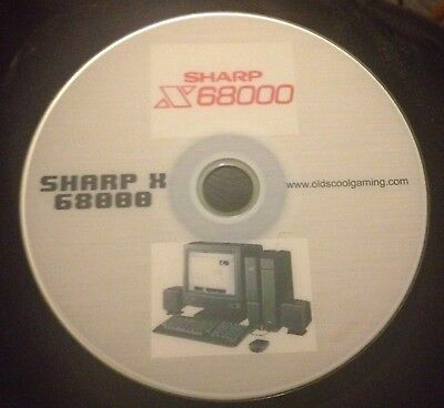 Sharp X68000 Emulator for Windows with 900+ Public Domain games