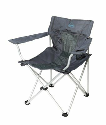 Camp Gear Folding Camping Chair Picnic Outdoor Deluxe Classic Anthracite 1204745
