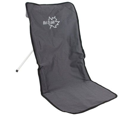 Bo-Trail Camping Chair Adjustable Angle Portable Aluminium Anthracite 1204600