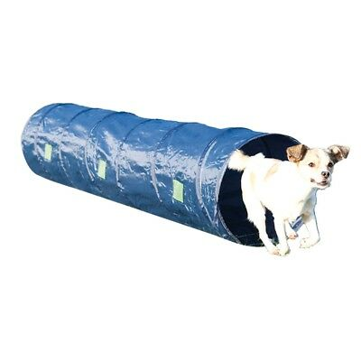 TRIXIE Dog Pet Agility Tunnel Exercise Equipment Training Tool 2 m Blue 3210