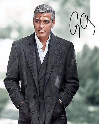 George Clooney #1 - 10X8 Pre Printed Lab Quality Photo Print - Free Delivery