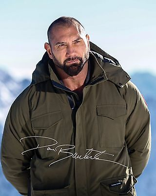 Dave Bautista #3 - 10X8 Pre Printed Lab Quality Photo Print - Free Delivery