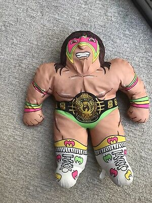 """Vintage WWF Wrestling Buddy ultimate warrior made by Tonka 22"""" amazing con"""