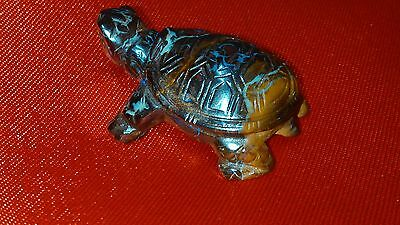 Queensland Boulder Opal Metrix - Turtle Figurine -