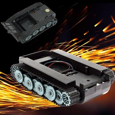 SN900 Smart Robot Germany Tank Chassis Car kit Rubber Track Crawler For Arduino