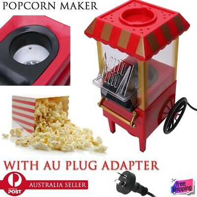 Electric DIY Pop Corn Popcorn Maker Electric Popper Machine Home Party Kitchen