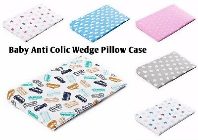 BABY PILLOW CASE for Anti colic Cushion Wedge, 2 sizes available Product of EU